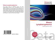 Couverture de Rhesus Lymphocryptovirus