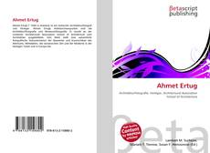 Bookcover of Ahmet Ertug