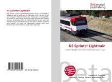 Portada del libro de NS Sprinter Lighttrain