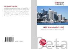 USS Jordan (DE-204)的封面