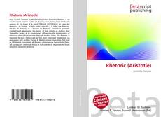 Bookcover of Rhetoric (Aristotle)