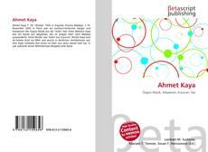 Bookcover of Ahmet Kaya