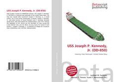 Capa do livro de USS Joseph P. Kennedy, Jr. (DD-850)