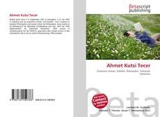 Обложка Ahmet Kutsi Tecer
