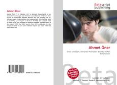 Capa do livro de Ahmet Öner