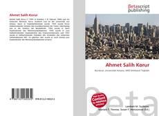 Bookcover of Ahmet Salih Korur