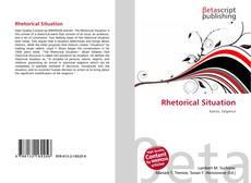 Rhetorical Situation kitap kapağı