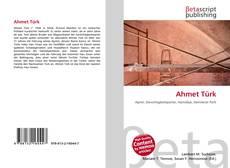 Ahmet Türk kitap kapağı