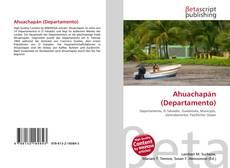 Portada del libro de Ahuachapán (Departamento)