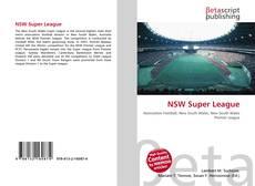 Bookcover of NSW Super League