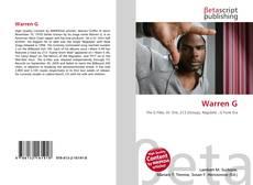 Warren G的封面