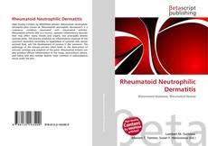 Buchcover von Rheumatoid Neutrophilic Dermatitis