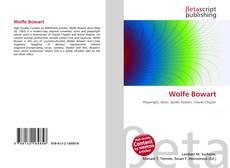Wolfe Bowart kitap kapağı