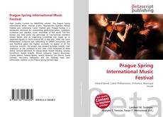 Buchcover von Prague Spring International Music Festival