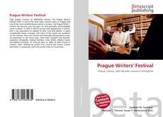 Bookcover of Prague Writers' Festival