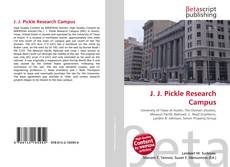 Buchcover von J. J. Pickle Research Campus