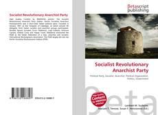 Обложка Socialist Revolutionary Anarchist Party