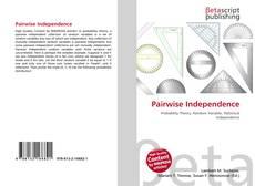Capa do livro de Pairwise Independence