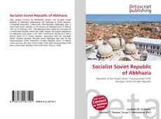 Couverture de Socialist Soviet Republic of Abkhazia