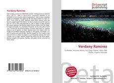 Portada del libro de Yordany Ramírez