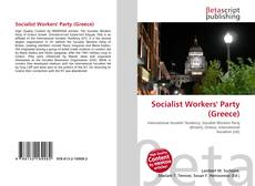 Bookcover of Socialist Workers' Party (Greece)