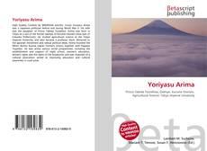 Bookcover of Yoriyasu Arima