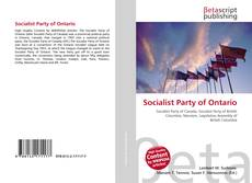 Bookcover of Socialist Party of Ontario