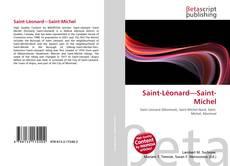Couverture de Saint-Léonard—Saint-Michel