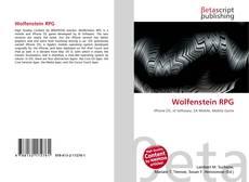 Buchcover von Wolfenstein RPG