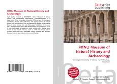 NTNU Museum of Natural History and Archaeology的封面