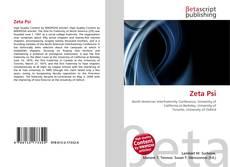 Bookcover of Zeta Psi
