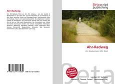 Bookcover of Ahr-Radweg