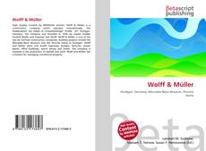 Bookcover of Wolff & Müller