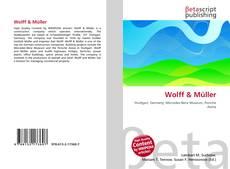 Обложка Wolff & Müller