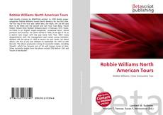 Обложка Robbie Williams North American Tours