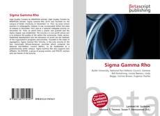 Обложка Sigma Gamma Rho