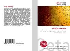 Обложка York Brewery