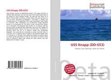 Portada del libro de USS Knapp (DD-653)