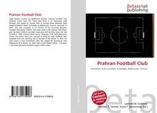 Capa do livro de Prahran Football Club