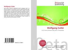 Buchcover von Wolfgang Cutler