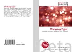 Buchcover von Wolfgang Egger