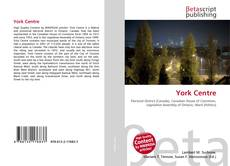 Bookcover of York Centre