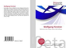 Couverture de Wolfgang Fürstner