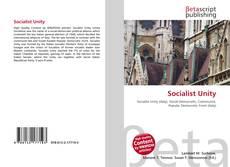 Buchcover von Socialist Unity