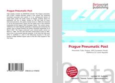 Capa do livro de Prague Pneumatic Post