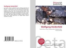 Buchcover von Wolfgang Heidenfeld