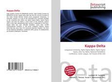 Bookcover of Kappa Delta