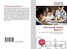 Bookcover of York County School District 1