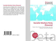 Bookcover of Socialist Workers Party (Panama)
