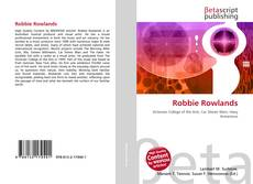 Bookcover of Robbie Rowlands